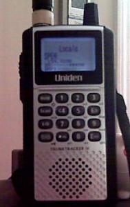 396XT Uniden Scanner